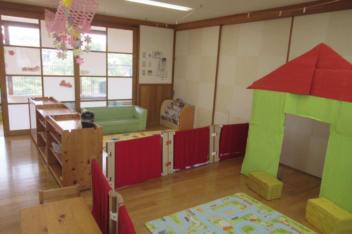 1歳児室(2階)光組